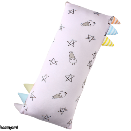 Bed-Time Buddy Small Star & Sheepz Pink with Color & Stripe tag - Medium