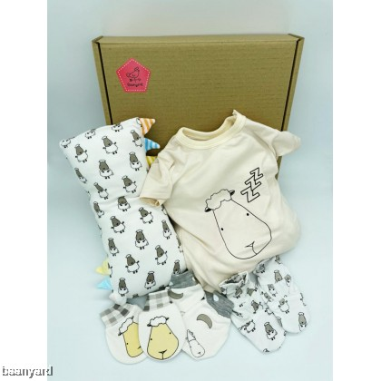 Simple Newborn Set - Girl